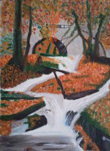 Bridie Smith Autumn magic oil painting